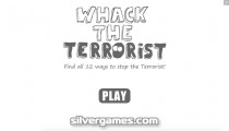 Whack The Terrorist: Menu