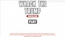 Whack The Trump: Screenshot