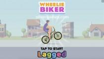 Wheelie Biker: Menu