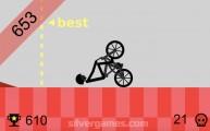 Wheelie Challenge: Stickman Wheelie Fall