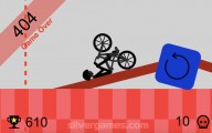 Wheelie Challenge: Wheelie Fall Stickman