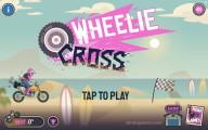 Wheelie Cross: Menu