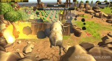 Wild Animals Zoo Simulator: Gameplay Elephant Destruction Field