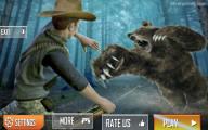 Wild Bear Hunting: Menu