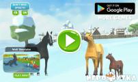 Winter Horse Simulator: Menu