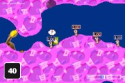 Worms World Party: Gameplay Worms Fighting