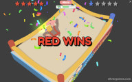 Wrestle Up: Multiplayer Red Winner Wrestling