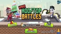 Xmas Rooftop Battles: Menu