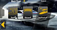 Xtream Boat Racing: Race Selection