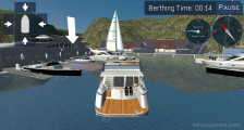 Yacht Parking Simulator: Boat On The Water Berthing