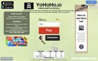 YoHoHo.io: Menu