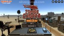 Zombie Choppa: Menu