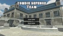Zombie Defense Team: Menu