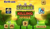 Zombie Killing Spree: Menu