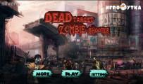Zombie Shooter: Menu