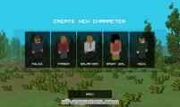 Zombie Craft: Character Selection Zombies